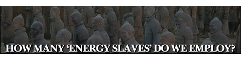 "How Many �Energy Slaves"" Do We Employ?"