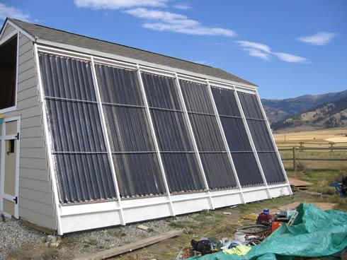 The half program altenergymag for Tin can solar heater
