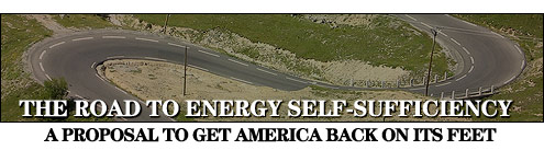 THE ROAD TO ENERGY SELF-SUFFICIENCY