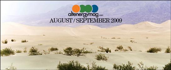 AltEnergy eMagazine August / Sept 2009