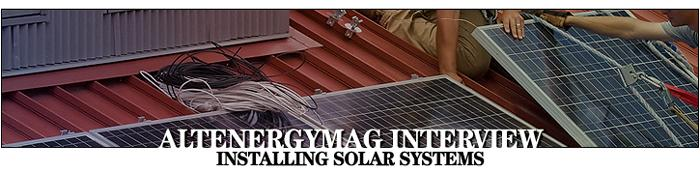 Installing Solar Systems in California