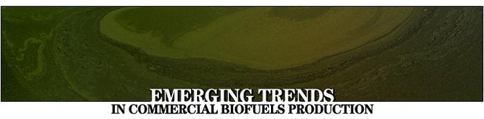 Emerging Trends in Commercial Biofuels Production