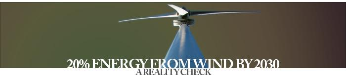 Interview - 20% Energy from Wind by 2030  - A Reality Check