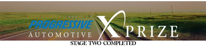 The Automotive X PRIZE Competition, Stage Two Completed
