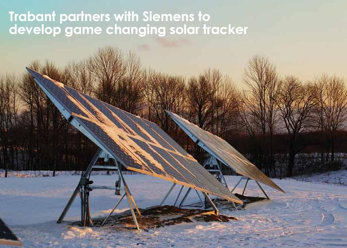 Trabant partners with Siemens to develop game changing solar tracker