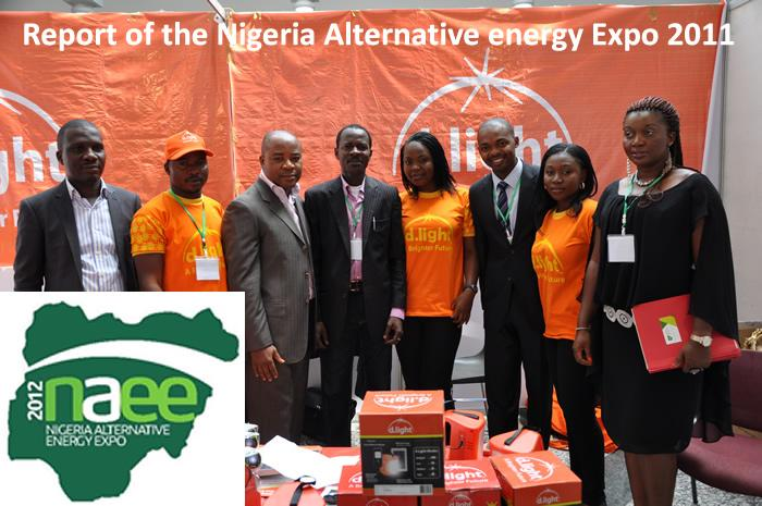 Report of the Nigeria Alternative energy Expo 2011