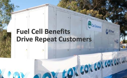 Fuel Cell Benefits Drive Repeat Customers
