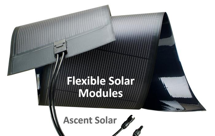 Flexible Solar Modules
