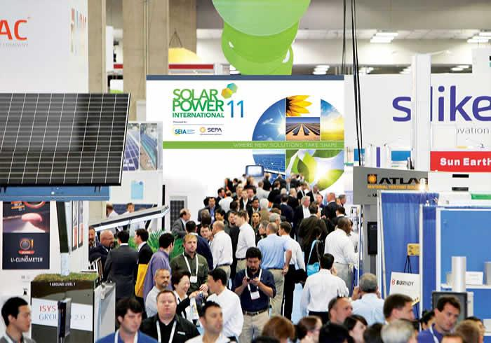 GENERATING BUSINESS AT SOLAR POWER INTERNATIONAL