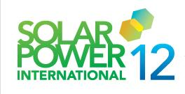 Solar Power International 2012 - Tradeshow Report