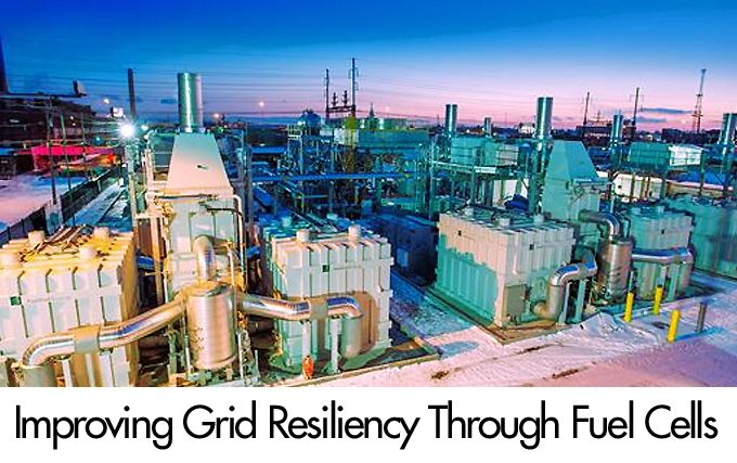 Improving Grid Resiliency through Fuel Cells