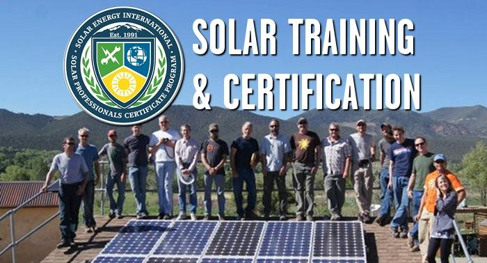 Solar Training and Certification