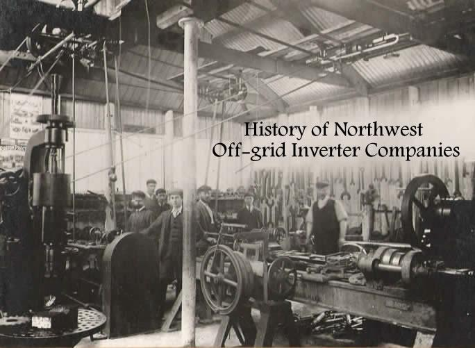 History of Northwest Off-grid Inverter Companies
