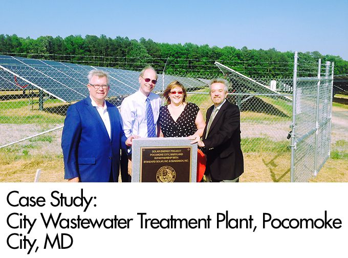 Case Study: City Wastewater Treatment Plant, Pocomoke City, MD