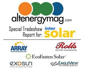 Intersolar 2015 Tradeshow Report