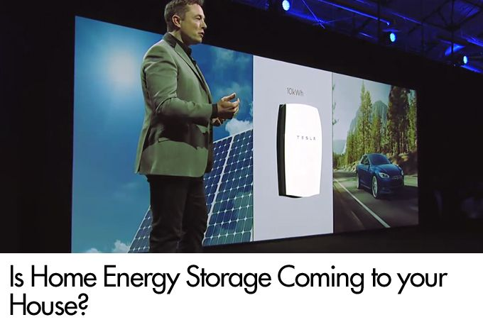 Is Home Energy Storage Coming to your House?