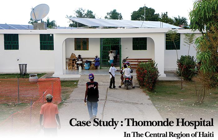 Case Study: Thomonde Hospital In The Central Region of Haiti