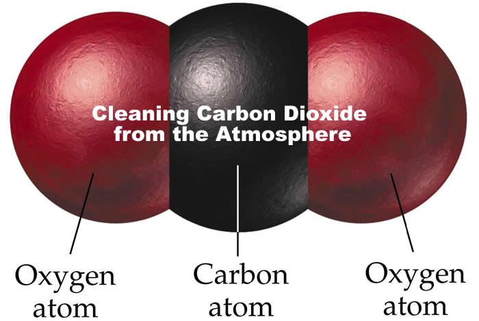 Cleaning Carbon Dioxide from the Atmosphere