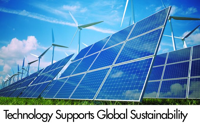 Technology Supports Global Sustainability