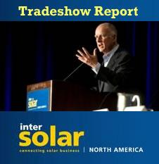Intersolar 2013 - Tradeshow Report
