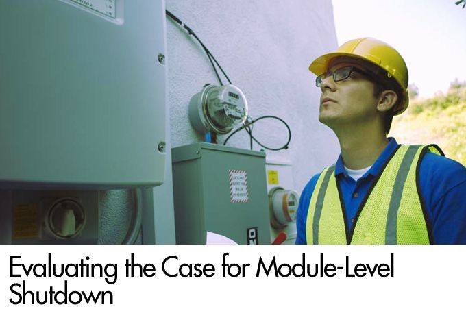 Evaluating the Case for Module-Level Shutdown