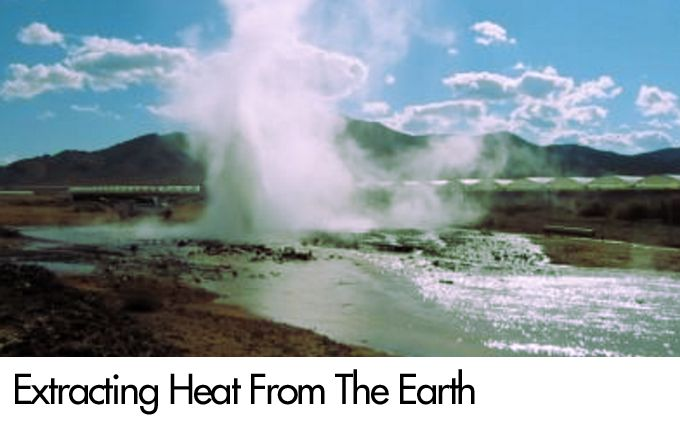 Extracting Heat From The Earth