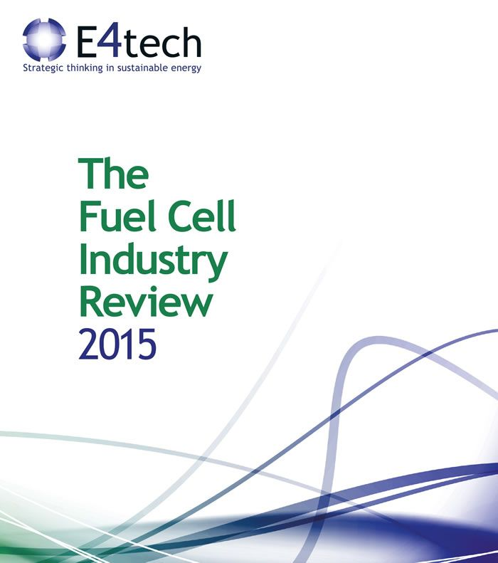The Fuel Cell Industry Review 2015