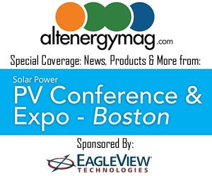 AltEnergyMag.com - Special Tradeshow Coverage of Solar Power PV Conference & Expo