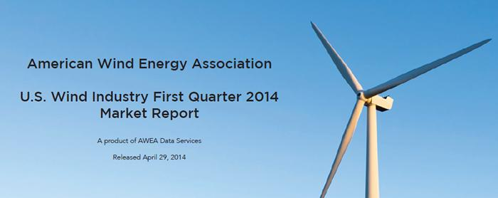 U.S. Wind Industry First Quarter 2014  Market Report