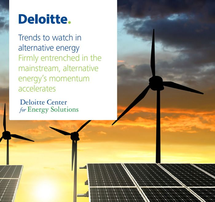 Trends To Watch In Alternative Energy