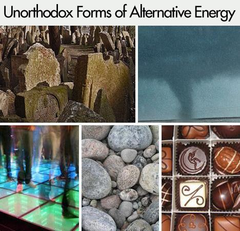 Unorthodox Forms of Alternative Energy