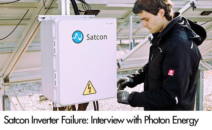 Maintaining Satcon Inverters