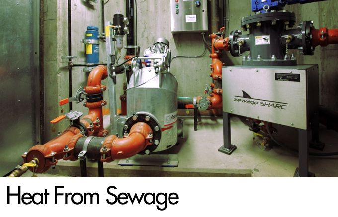 Heat From Sewage