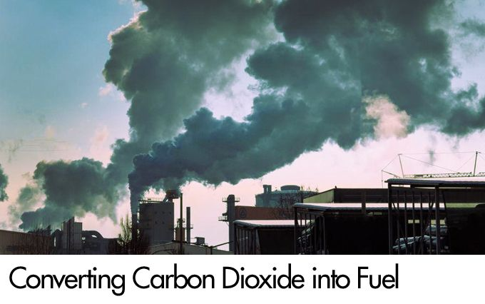 Converting Carbon Dioxide into Fuel