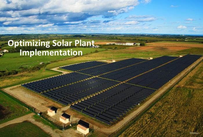Optimizing Solar Plant Implementation