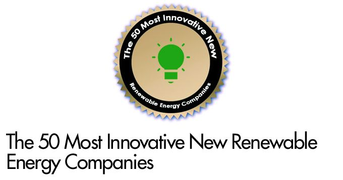 The 50 Most Innovative New Renewable Energy Companies