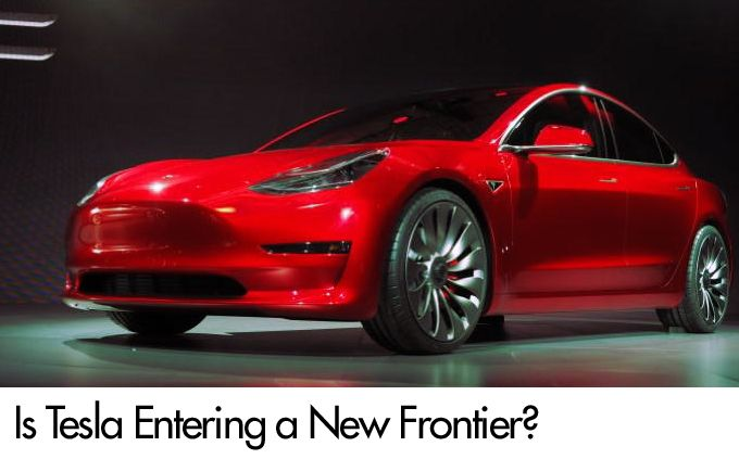 Is Tesla Entering a New Frontier?