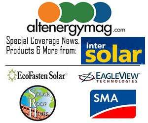 AltEnergyMag.com - Special Tradeshow Coverage of Intersolar