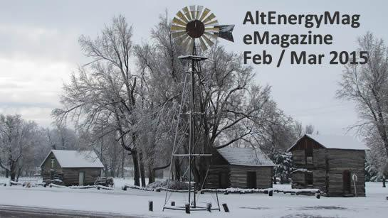 AltEnergyMag eMagazine Issue <br> Feb / Mar 2015