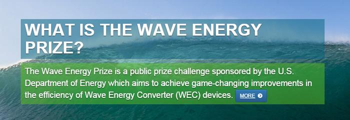 U.S. Department of Energy's Wave Energy Prize