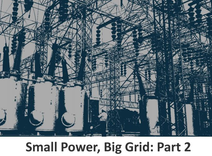 Small Power, Big Grid: Part 2 - DERs AND REGIONAL LOAD FORECASTING