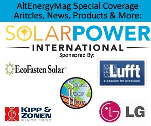 AltEnergyMag.com - Special Tradeshow Coverage of Solar Power International 2017