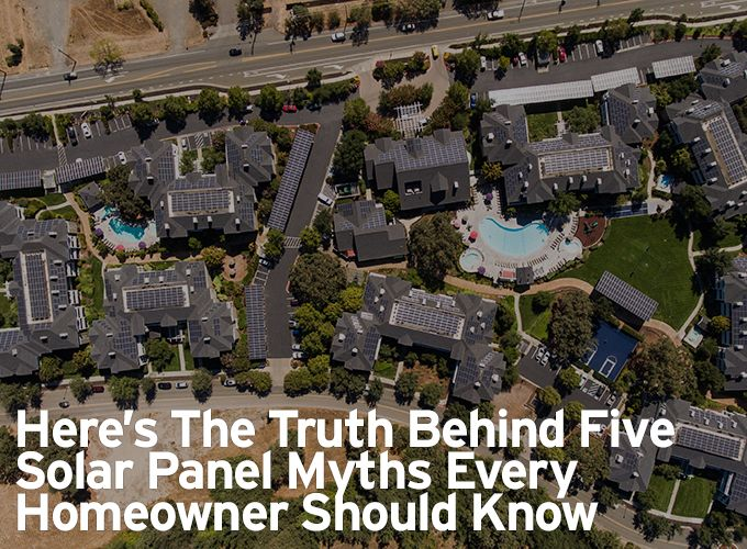 Here's the truth behind five solar panel myths