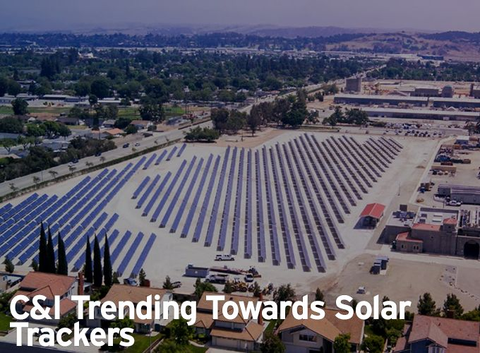 C&I Trending Towards Solar Trackers