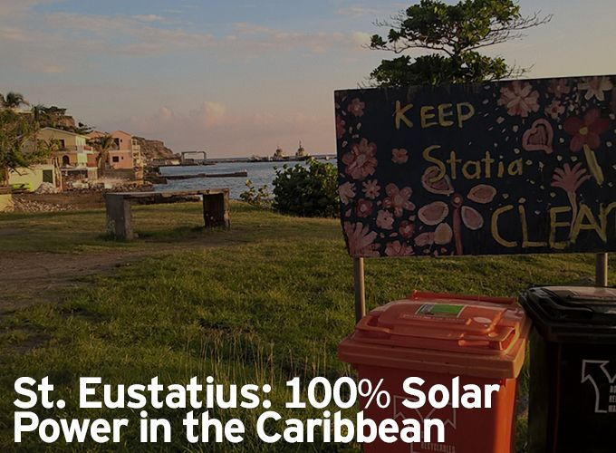 St. Eustatius: 100% Solar Power in the Caribbean