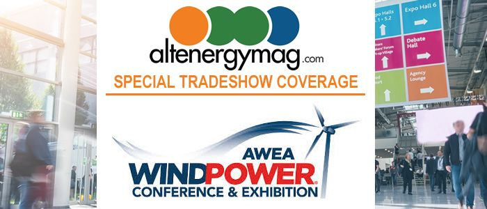 AltEnergyMag - Special Tradeshow Coverage<br>AWEA WINDPOWER 2018
