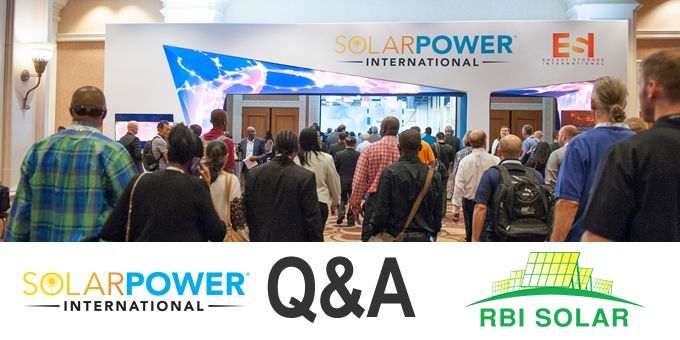 Talking SPI 2018 with RBI Solar