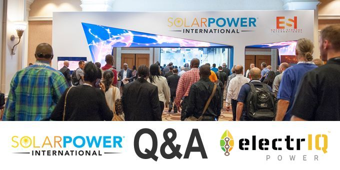 Talking SPI 2018 with ElectrIQ Power