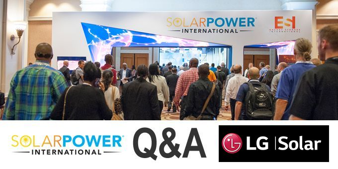 Talking SPI with LG Solar