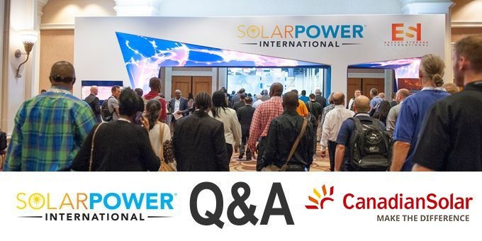 Talking SPI with Canadian Solar